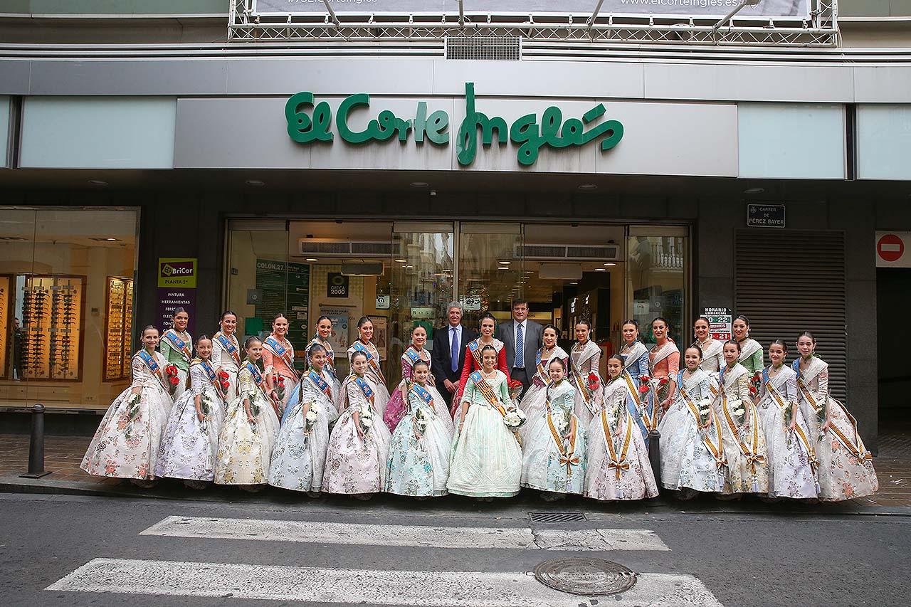 Fallas el corte ingl s rep a les falleres majors de val ncia - Libreria el corte ingles valencia ...